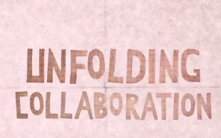 Unfolding Collaboration Title Screen